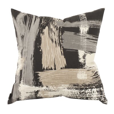 Courtney Throw Pillow Color: Charcoal