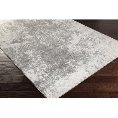 Saguaro Charcoal/Gray Area Rug Rug Size: 52 x 76