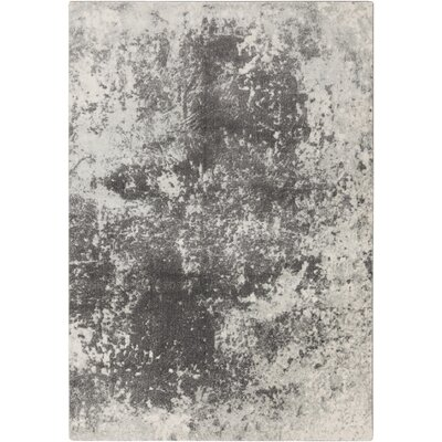Saguaro Charcoal/Medium Gray Area Rug Rug Size: 76 x 106