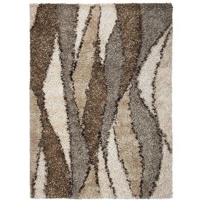 Boldt Ivory Grain Area Rug Rug Size: 76 x 96