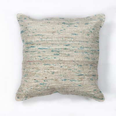 Amy Woven Viscose Throw Pillow Color: Ice Blue