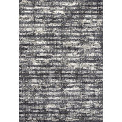 Ripinski Charcoal Old City Area Rug Rug Size: 53 x 77