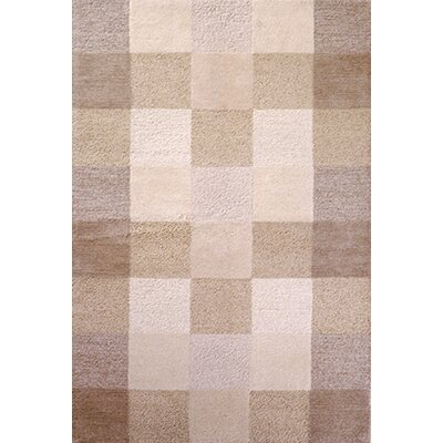 Bevill Ivory Checkerboard Area Rug Rug Size: 8 x 106