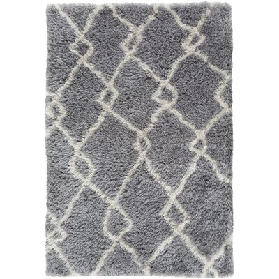Keith Gray/Beige Area Rug Rug Size: 8 x 10