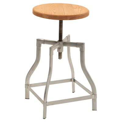 Iroh Adjustable Height Swivel Bar Stool