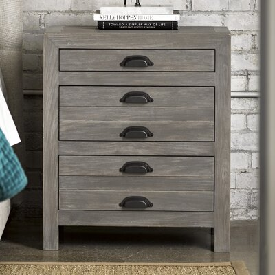 Somona 3 Drawer Nightstand