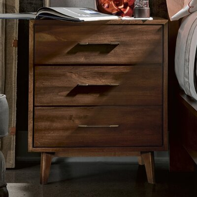 Julesburg 2 Drawer Nightstand