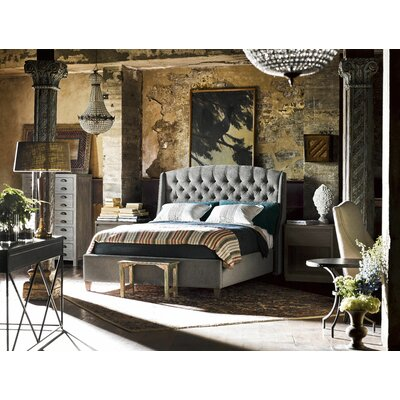 Epicenters Graphite Panel Customizable Bedroom Set