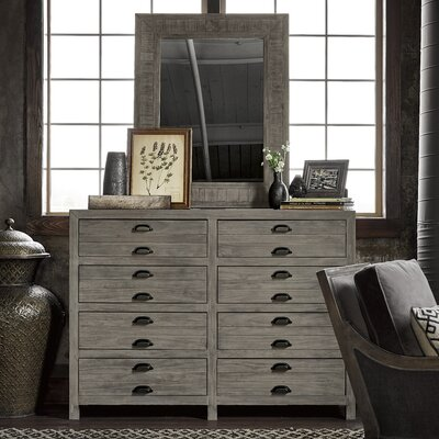 Somona 8 Drawer Dresser with Mirror