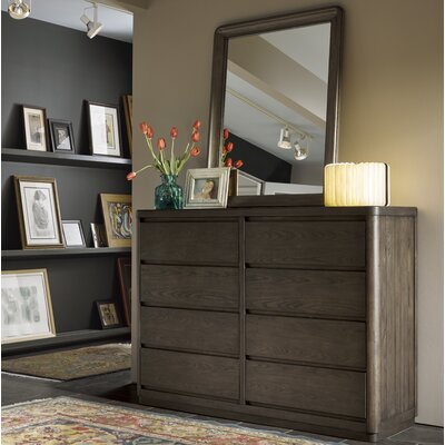 Epicenters 8 Drawer Dresser with Mirror