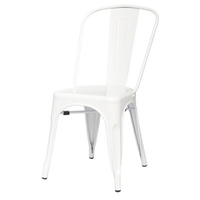 Ellery Side Chair Color: White