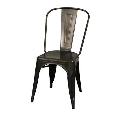 Ellery Side Chair Color: Gunmetal