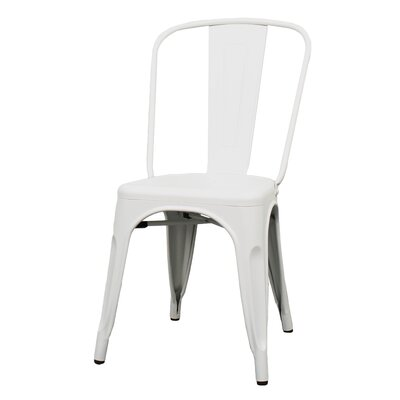 Ellery Side Chair Finish: Frosted White