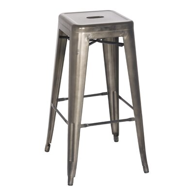 Ellery 26 Counter Height Stool Color: Gun Metal