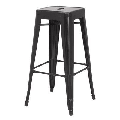 Ellery 26 Counter Height Stool Color: Black