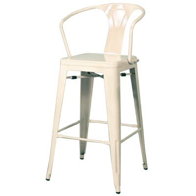 Ellery 30 Bar Stool Finish: White