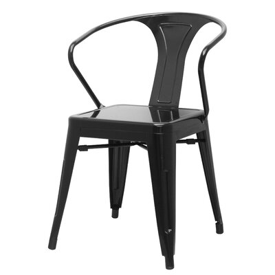 Ellery Side Chair Finish: Black