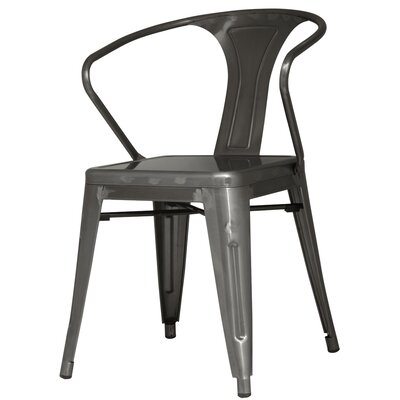 Ellery Side Chair Finish: Gunmetal