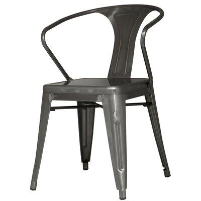 Ellery Arm Chair Finish: Gunmetal