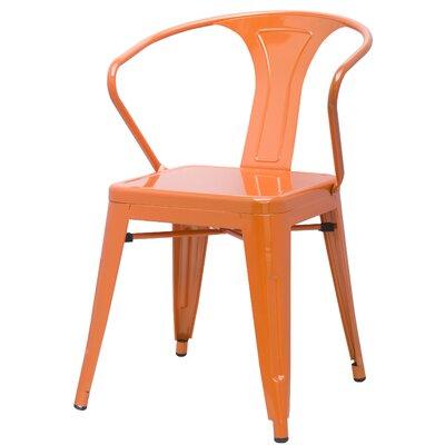 Ellery Arm Chair Finish: Orange