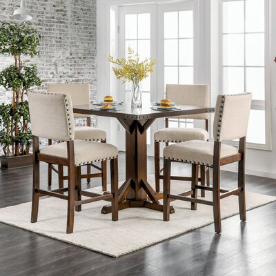 Felix Counter Height 5 Piece Dining Set