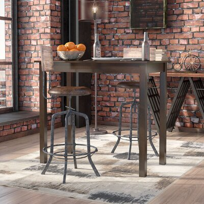 Gilpatrick Counter Height Dining Table Finish: Black