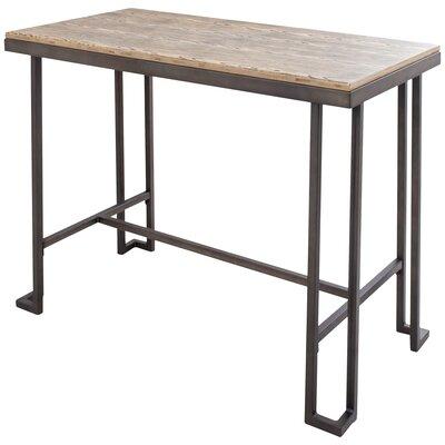 Calistoga Dining Table Finish: Antique Metal