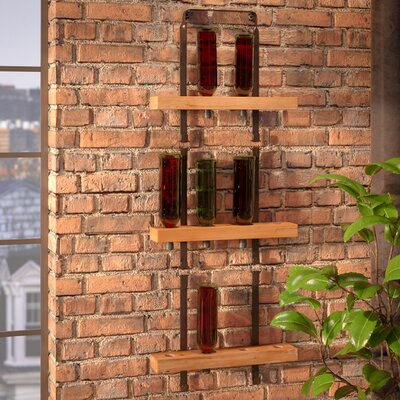 12 Bottle Wall Mounted Wine Rack