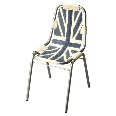 Annette Denim Side Chair