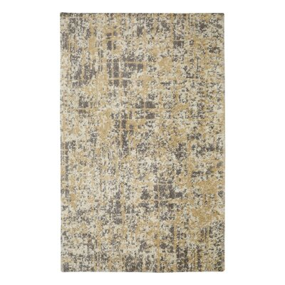 Krysta Beige/Brown Area Rug Rug Size: Rectangle 5 x 7