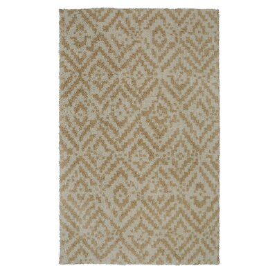 Krysta Tan/Beige Area Rug Rug Size: Rectangle 8 x 10