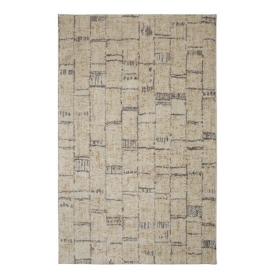 Falmouth Floor Work Beige/Tan Area Rug Rug Size: 8 x 10