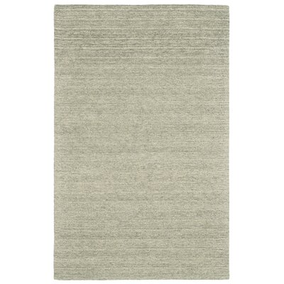 Glenn Hand-Tufted Smoke Area Rug Rug Size: Rectangle 36 x 56