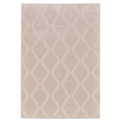 Witham Cream Area Rug Rug Size: Rectangle 8 x 11