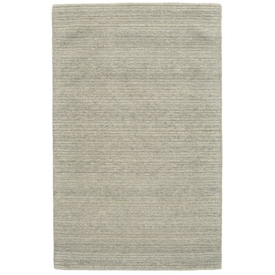 Glenn Hand-Tufted Sand Area Rug Rug Size: Rectangle 96 x 136