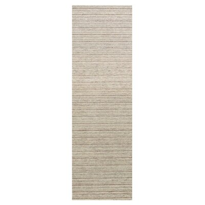 Bethany Hand-Tufted Sand Area Rug Rug Size: Runner 26 x 8