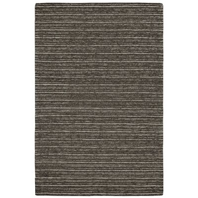 Glenn Hand-Tufted Brown/Gray Area Rug Rug Size: 36 x 56