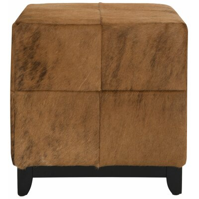 Porterfield Ottoman Upholstery: Black / Brown