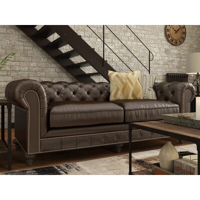 Damon Leather Sofa