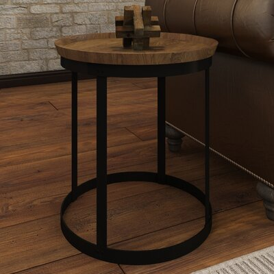 Avsallar End Table Finish: Natural