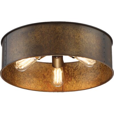 Vincent 3-Light Flush Mount