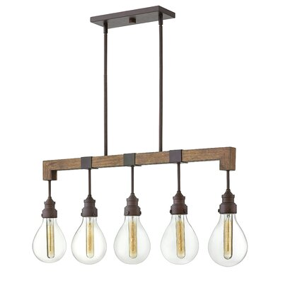 Montagu 5-Light Kitchen Island Pendant