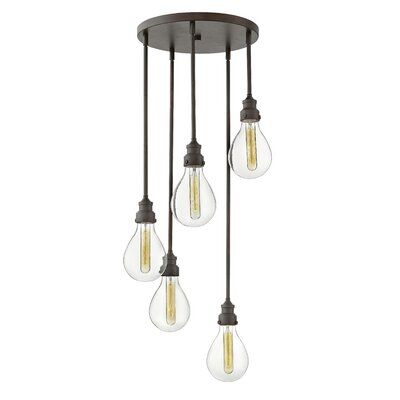 Verda 5-Light Cascade Pendant