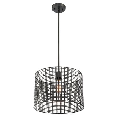 Elle 1-Light Drum Pendant