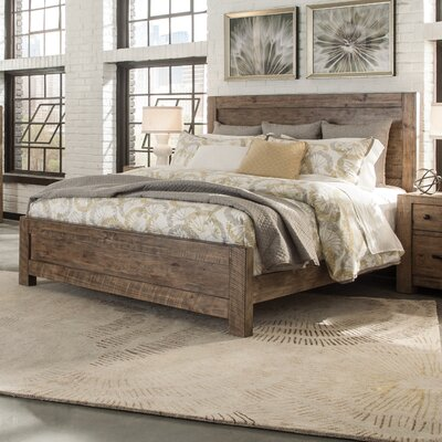 Kersey Panel Bed Size: California King