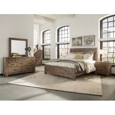 Kersey Panel Customizable Panel Bed