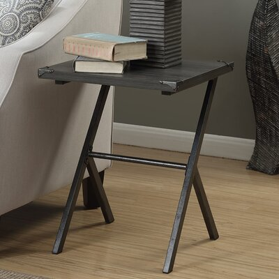Kyra End Table Finish: Weathered Gray