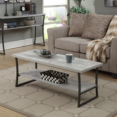 Lyon Coffee Table Color: Faux Birch