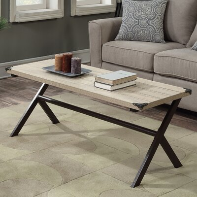 Kyra Coffee Table Finish: Weathered White