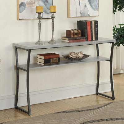 Lyon Console Table Finish: Gray